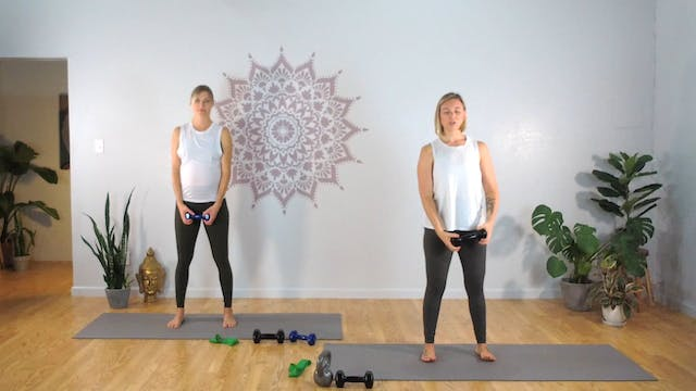 Prenatal Mama Strong 5 (All Levels)