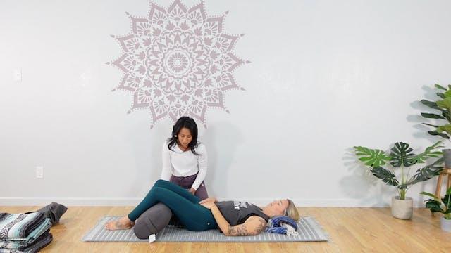 Restorative Yoga - Supported Savasana