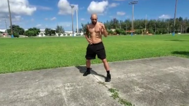 Boxing Basics with Drew 'Tomahawk' Dwelly (All Levels). *35 Minutes*