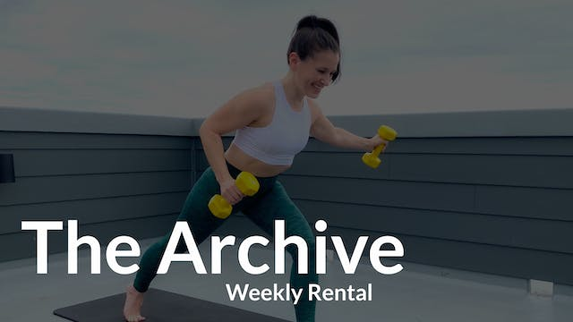 The Archive Rental