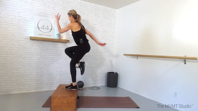 O44 Method February #1 ~ Box, Tube, Ankle Weights + Hand Weights