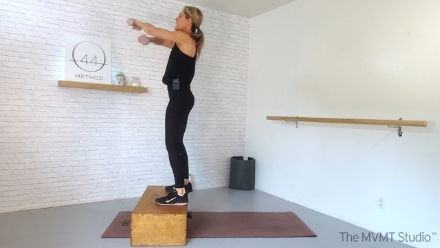 O44 Method February #4 ~ Box, Tube + Hand Weights