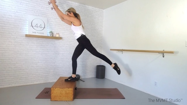 O44 Method March #1 ~ Box, Ball, Hand Weights + Hip Band
