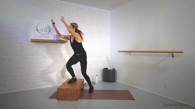 O44 Method December #2 ~ Box, Mat, Hand Weights + Tube