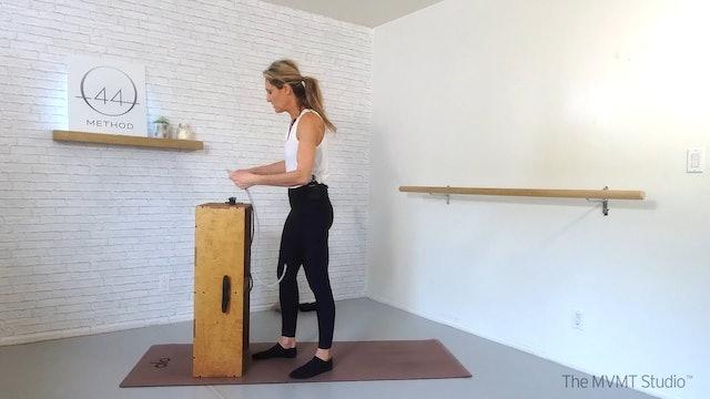 O44 Barre February #3 ~ Box, Tube + Ankle Weights