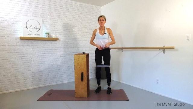 O44 Method January #2 ~ Box, Tube, Hip Band + Hand Weights
