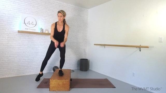 O44 Method March #4 ~ Mat, Box, Hand Weights, Ball + Tubing