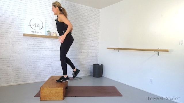 O44 Method March #2 ~ Mat, Box, Hand Weights + Tubing
