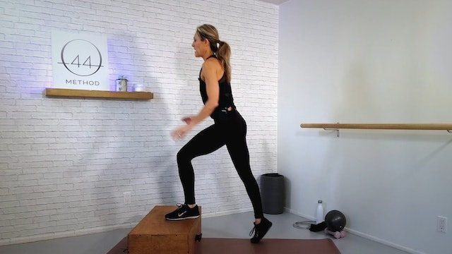 O44 Method December #1 ~ Box, Mat, Ball, Ankle Weights, Hand Weights + Tube