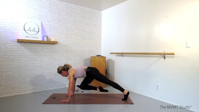 O44 Barre January #1 ~ Box, Tube, Hand Weights + Ankle Weights