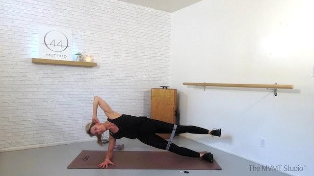 O44 Method February #2 ~ Box, Tube, Hand Weights + Hip Band