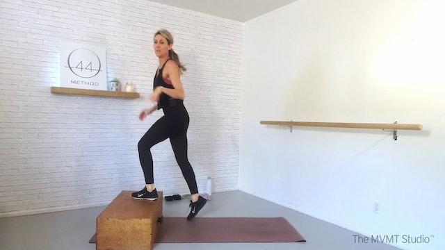 O44 Method February #3 ~ Box, Tube, Ankle Weights + Hand Weights
