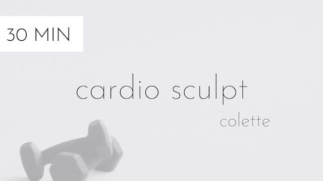 cardio sculpt #20 | colette