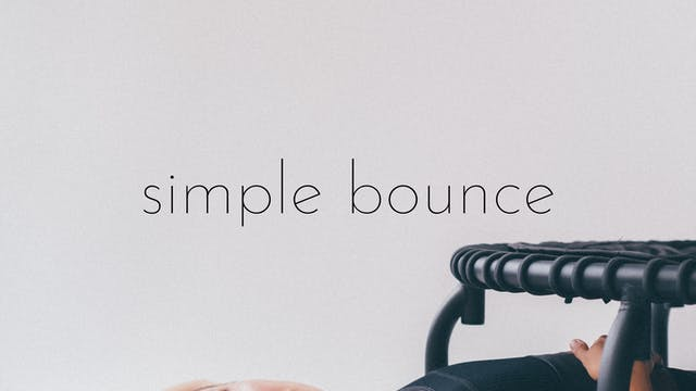 simple bounce