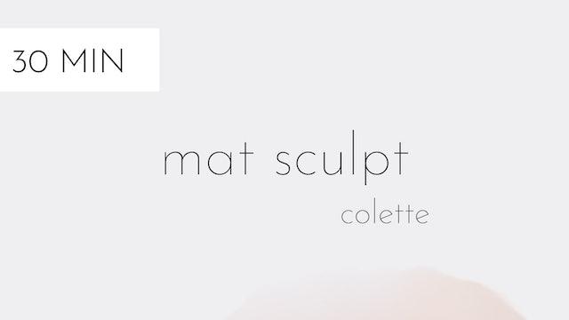 mat sculpt #18 | colette
