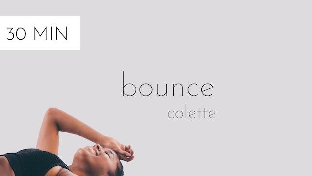 bounce #1 | colette