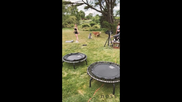 backyard project behind the scenes and bloopers