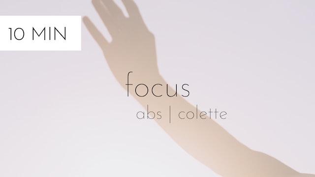 abs focus #21 | colette