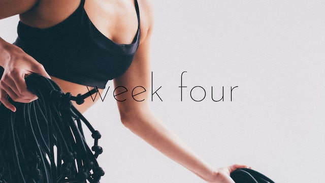 bounce advanced track week four - refocus