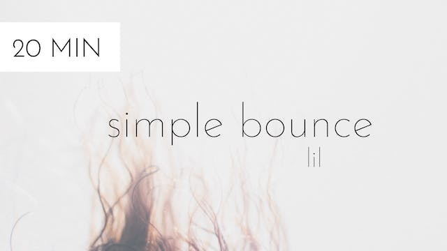 simple bounce #2 | lil