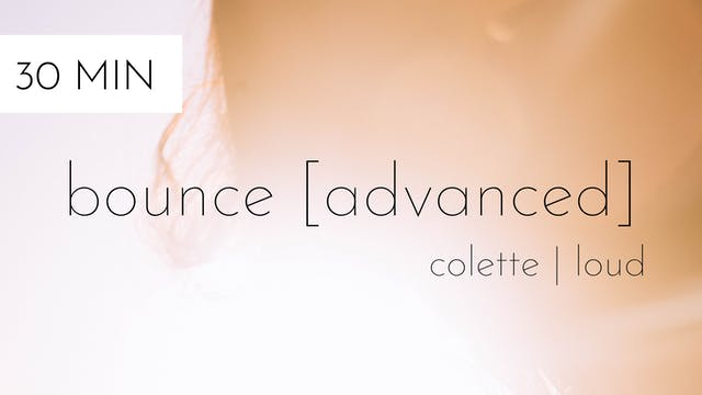bounce [advanced] #22 | colette