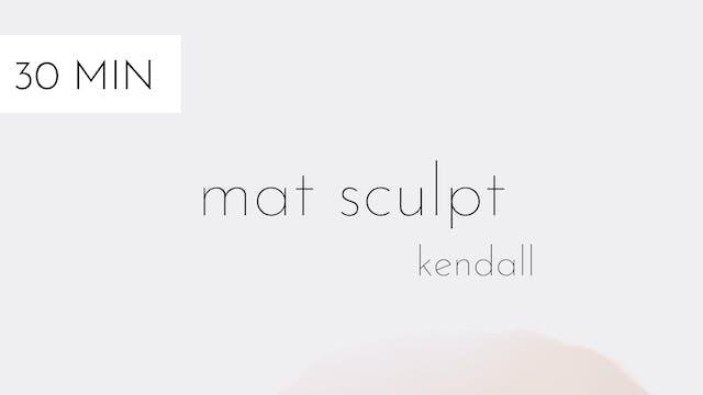 mat sculpt #7 | kendall