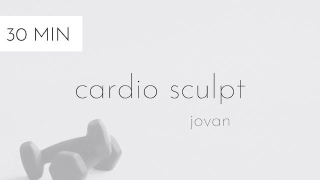 cardio sculpt #21 | jovan
