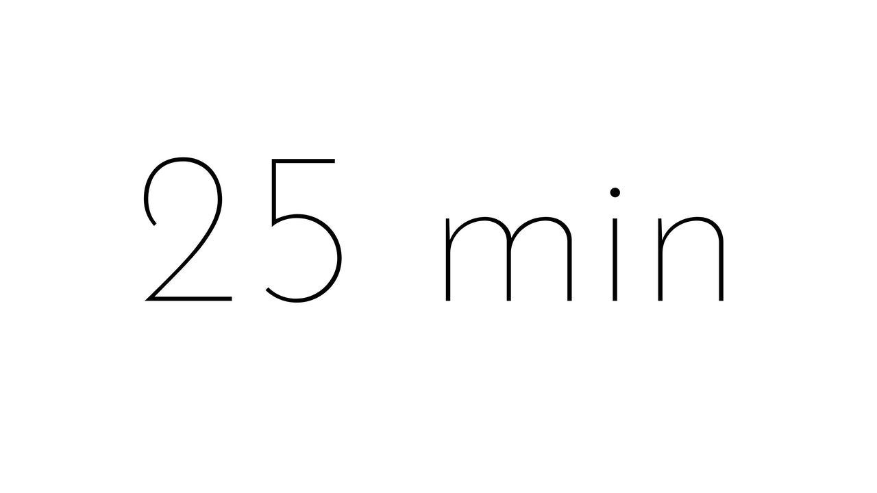 25 min