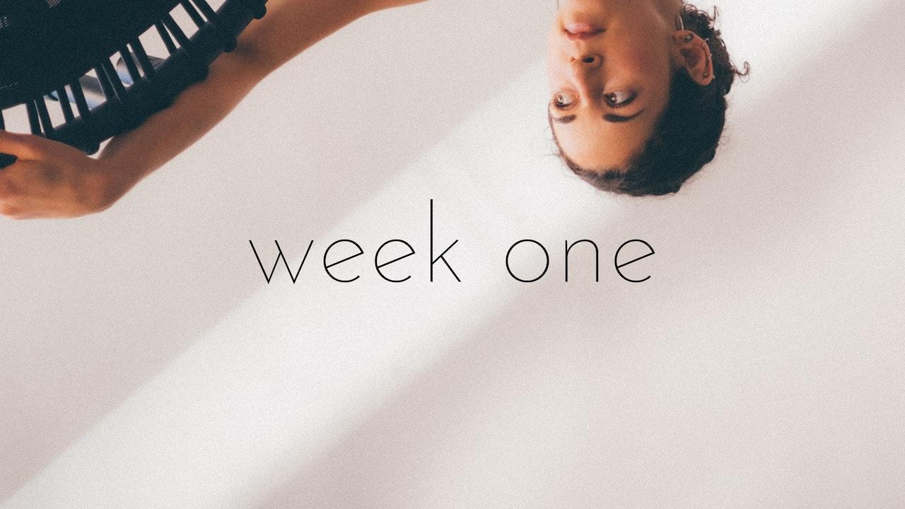 bounce beginner/intermediate track week one - reflection