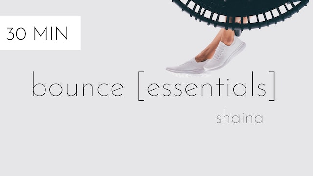 bounce [essentials] #17 | shaina