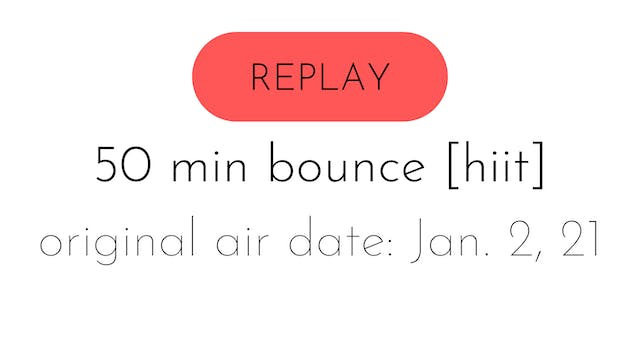 LIVE bounce [hiit] 1.2.21 | aly