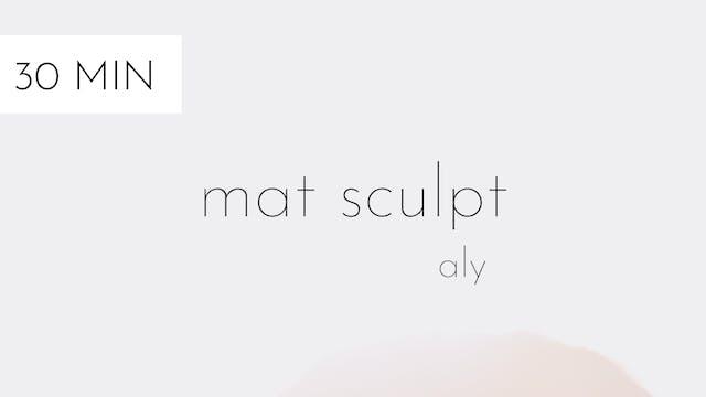 mat sculpt # 11 | aly