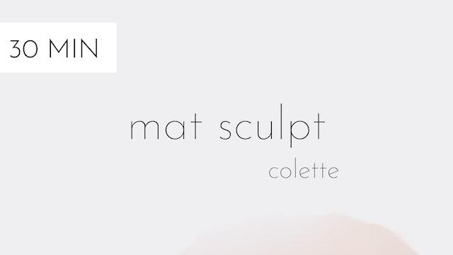 mat sculpt #3 | colette