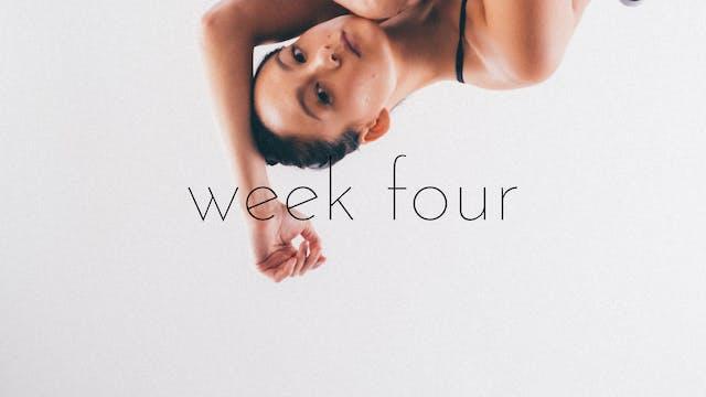 bounce beginner/intermediate track week four - refocus