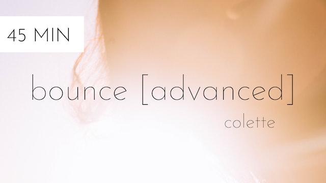 bounce [advanced] #17 | colette