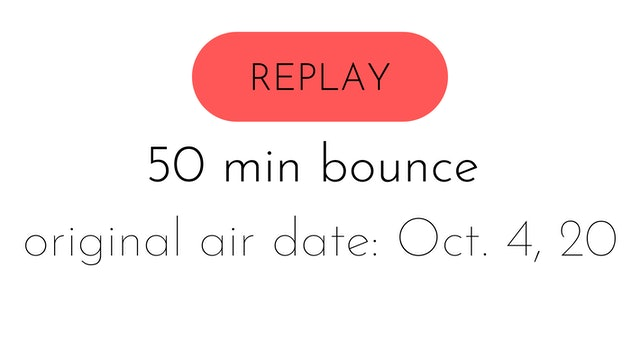 aw30 reset week four | LIVE | bounce intermediate