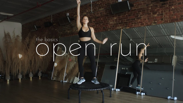 the basics - open run