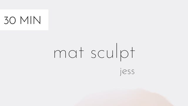 mat sculpt #13 | jess
