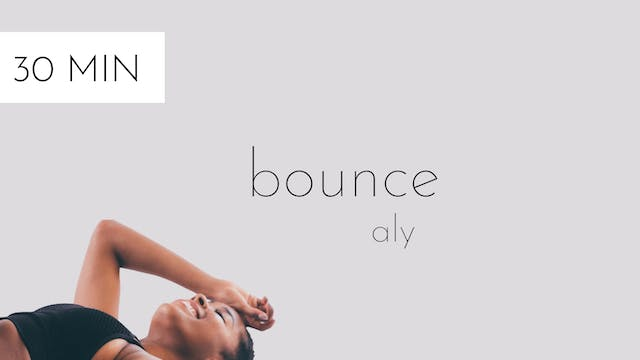 bounce #12 | aly