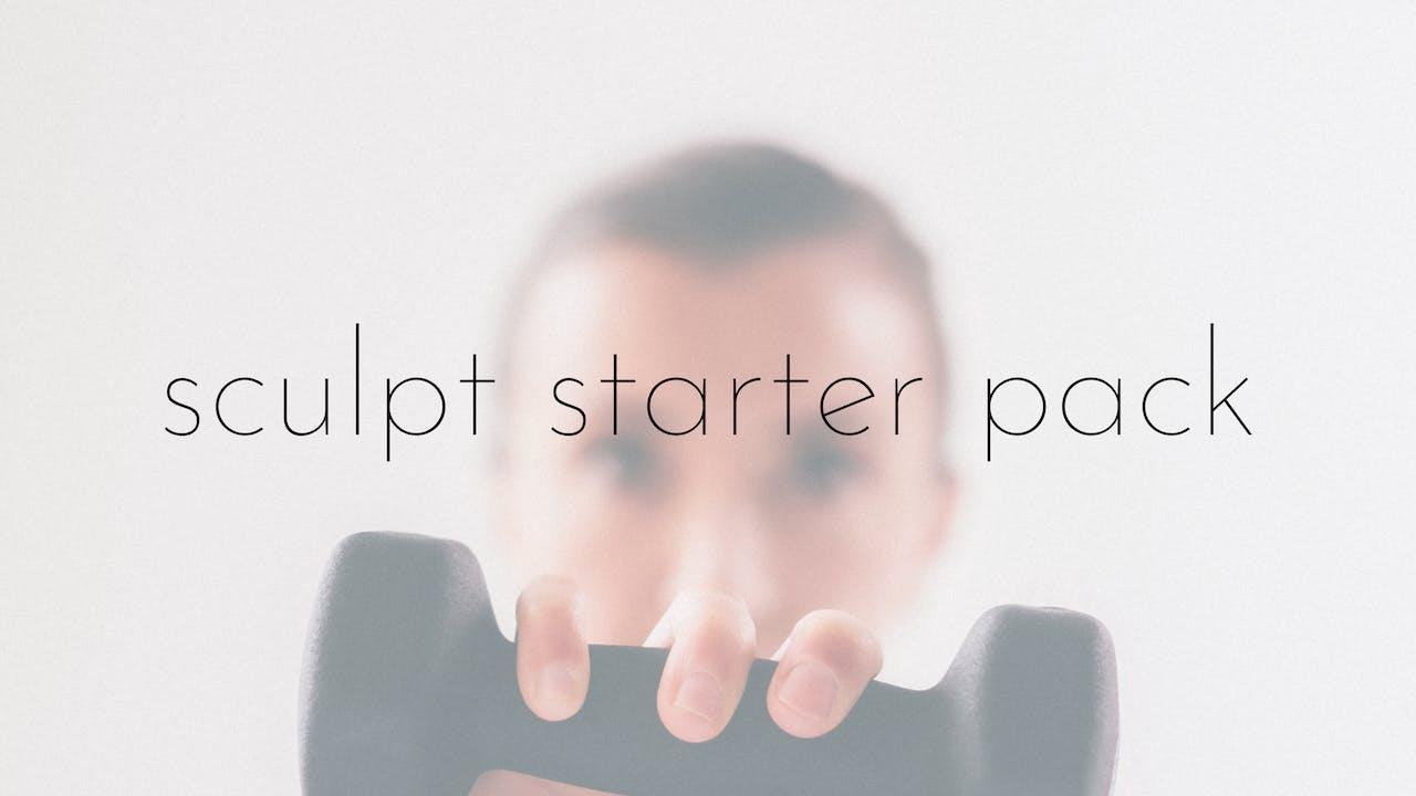 sculpt starter pack