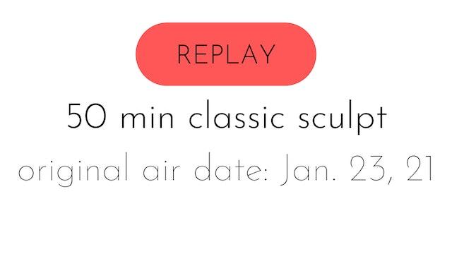 LIVE classic sculpt 1.23.21 | aly + colette