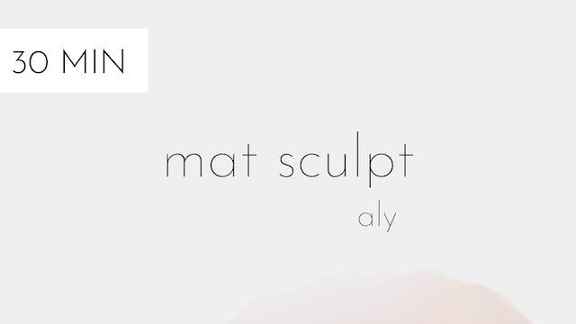 mat sculpt #5 | aly