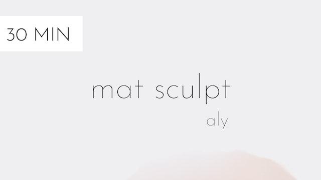 mat sculpt #17 | aly