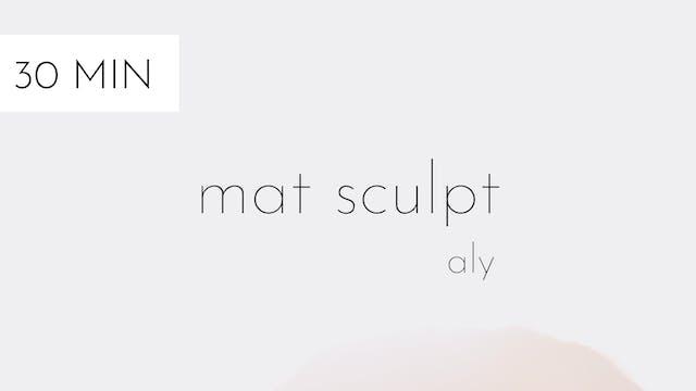 mat sculpt #17   aly