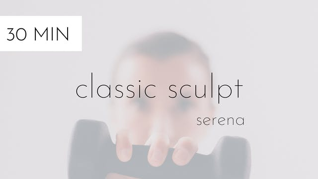 classic sculpt #7 | serena