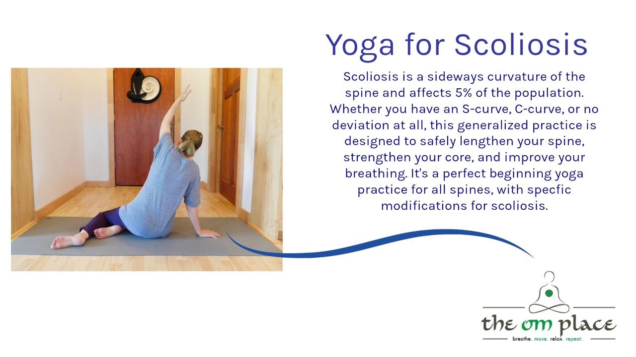Yoga For Scoliosis Season 3 The Om Channel Subscription
