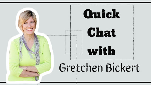 Quick Chat with Gretchen Bickert