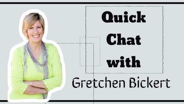 Quick Chat with Gretchen Bickert
