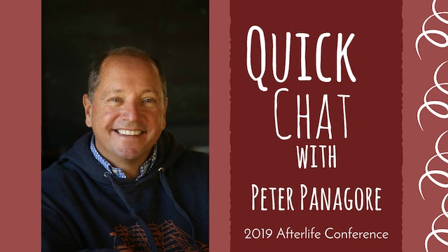 Quick Chat with Peter Panagore