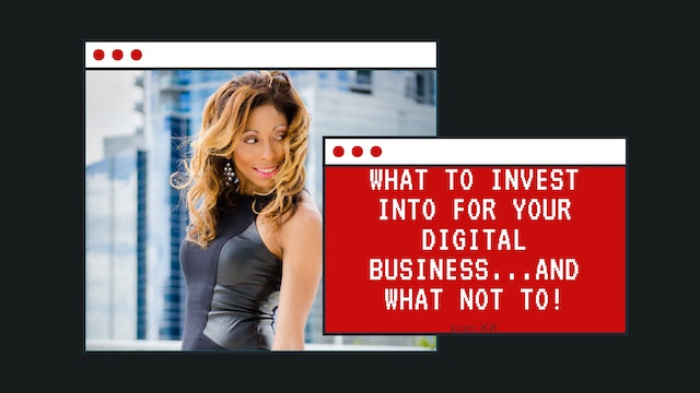 What to invest into for your digital business...and what not to!